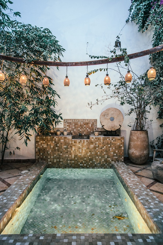 Profitez d'une piscine dans un espace réduit